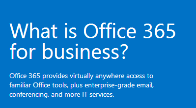 What-is-O365-for-Business