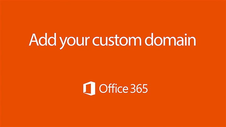 Office365 Custom Domain Name
